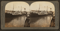 "Steamer ""Rosalind"" loaded with oils for export trade, leaving Port Arthur, Texas, U.S.A., by Keystone View Company.png"