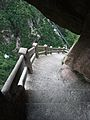 Steep steps downhill at Huangshan.jpg