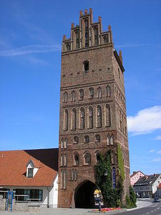 Anklam - Brick Gothic Steintor