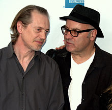 Steve Buscemi and Amos Poe at 2009 Tribeca.jpg
