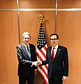Steven Mnuchin and Philip Hammond at 2018 G20 Finance Communiqué.jpg