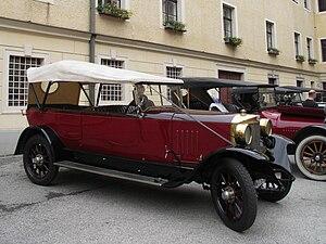 Steyr automobile - 1926 Steyr VII