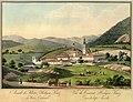 Stift Heiligenkreuz um 1800 - kolorierter Stich von Josef Koll.jpg