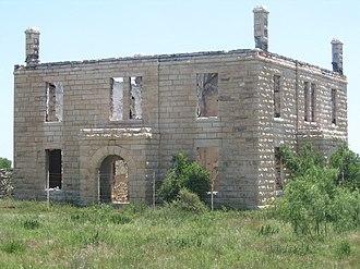 Stiles, Texas - Image: Stiles Courthouse 2