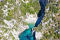 Stiniva Bay on Vis island in Croatia, a view from above (48608650526).jpg