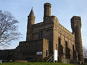 The Castle Climbing Centre, once the main Water Board pumping station.