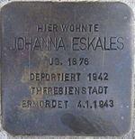 Stolperstein Böchingen Eskales Johanna.jpeg