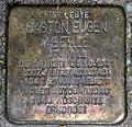 Stolperstein Cheruskerstr 20 (Schön) Gaston Eugen Aberle.jpg