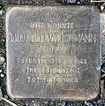 Stolperstein Flotowstr 9 (Hansa) Leopold Weichmann.jpg
