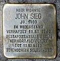 Stolperstein Jonasstr 5a (Neukö) John Sieg.jpg