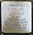 Stolperstein Kleve Hagsche Straße 9-11 Hannelore Leffmann.jpg