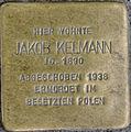 Stolperstein Remscheid Bismarckstraße 60 Jakob Kelmann.jpg