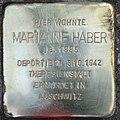 Stolperstein Stierstr 4 (Friedn) Marianne Haber.jpg