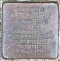 Stolperstein Windscheidstr 31 (Charl) Luise Kautsky.jpg