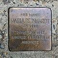 Stolperstein für Maria Reinhardt, Auf der Steig 108, Bad Cannstatt, Stuttgart.JPG