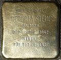 Stolperstein for Beruria Stein (Jahnstraße 26)