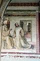 Storie di s. benedetto, 16 sodoma - Come Mauro mandato a salvare Placido cammina sopra l'acqua 02.JPG
