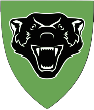 Squadron (army) - Badge of the Assault Squadron 4 of the Armoured Battalion. It is used on vehicles, uniforms and barracks.