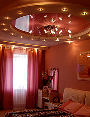 Streched ceiling
