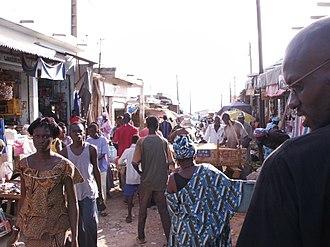M'Bour - Image: Streetsmbour
