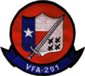 Strike Fighter Squadron 201 (US Navy) insignia c1999.png