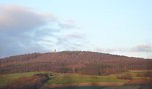 Strutberg from the southwest
