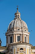 Sts Ambrose and Charles basilica in Rome.jpg