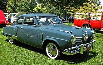 American automobile industry in the 1950s - 1951 Studebaker 2-door sedan