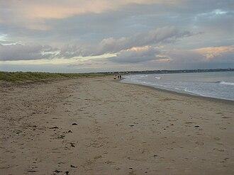 Studland - The beach at Studland