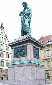 Monumento a Schiller de Bertel Thorvaldsen, en Stuttgart
