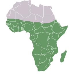 Cartina Politica Africa In Italiano.Africa Subsahariana Wikipedia