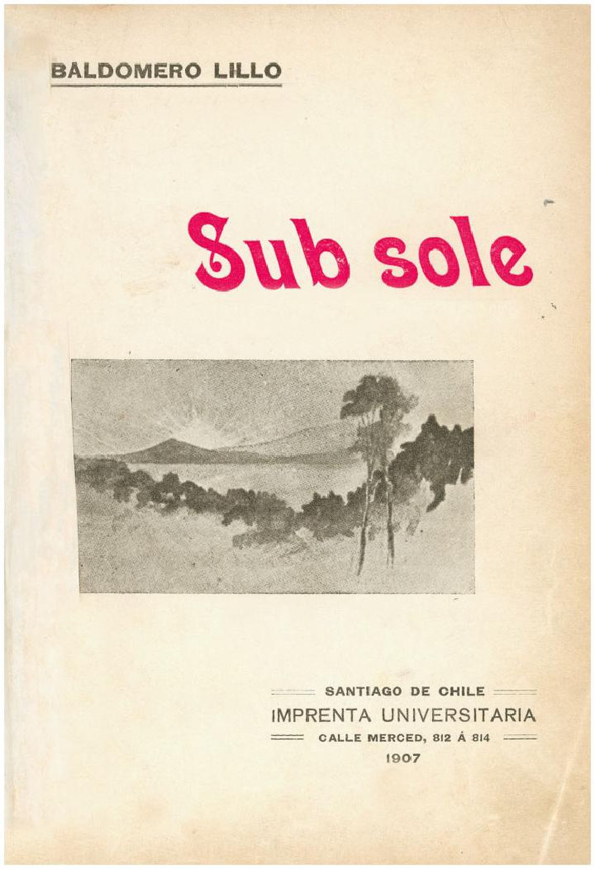 Sub sole - Wikipedia, la enciclopedia libre