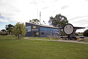 HMAS Otway (S 59) - Image: Submarine Museum and the HMAS Otway's 'Ducks Arse' in Germanton Park