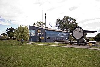 HMAS Otway (S 59) - Image: Submarine Museum and the HMAS Otway's 'Ducks Arse' in Germanton Park