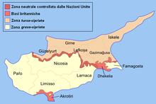 I distretti di Cipro