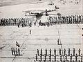 Sukarno's plane arriving at Fort Bragg, Presiden Soekarno di Amerika Serikat, p22.jpg