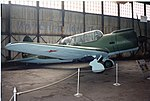 Sukhoi Su-2 ADDITIONAL INFORMATION- Although 910 Su-2s were built by the time production was discontinued in 1942, the aircraft was obsolete and under armed by the start of thereat Patriotic War. In (18387067972).jpg