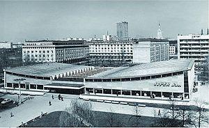 Supersam Warsaw - Warsaw Supersam in 1969