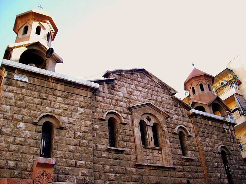 File:Surp Kevork (Siant George) Armenian Church, Aleppo (2 ...