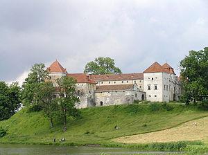 Svirzh Castle - Svirzh Castle was heavily restored in 1975-83.