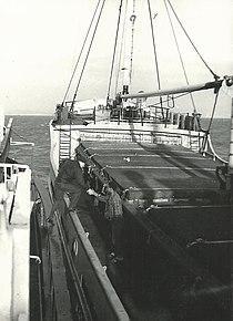 борт корабля фото