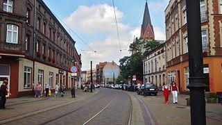 Świętochłowice Place in Silesian Voivodeship, Poland