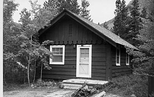 Swiftcurrent Ranger Station Historic District - Swiftcurrent cabin