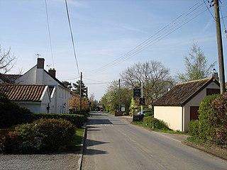 Swilland farm village in the United Kingdom