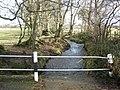 Swollen stream, south of Iddesleigh - geograph.org.uk - 1135238.jpg