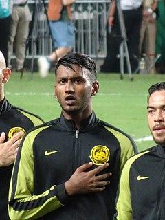 Syamer Kutty Abba Malaysian footballer