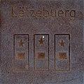 Symbol of Lëtzebuerg by Helmut Blažej, Bleiburg.jpg