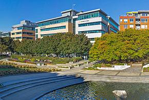 Photo du siège social de l'Université TÉLUQ à Québec.