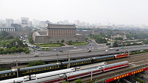 Longhai Railway - Image: T165 at xian