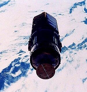 STS-26 - TDRS-3 after deployment.